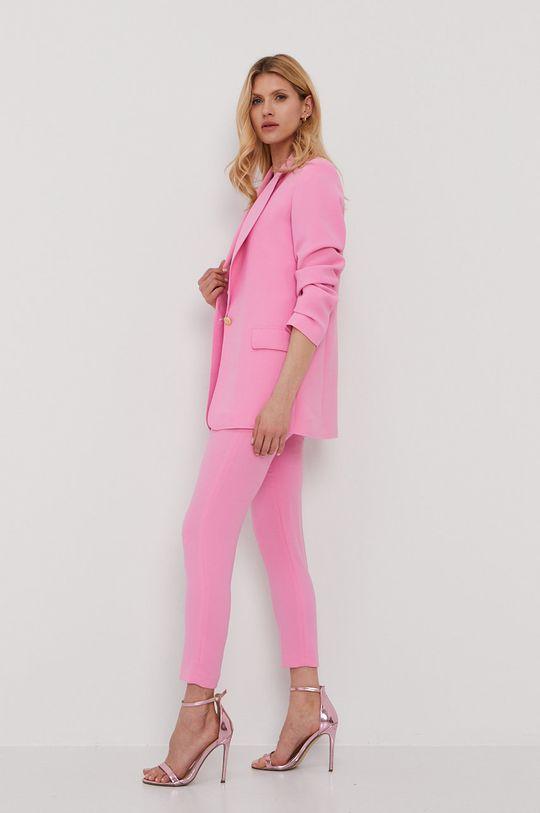 różowy NISSA - Spodnie
