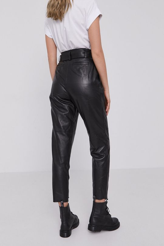 AllSaints - Spodnie skórzane Podszewka: 100 % Poliester, Materiał zasadniczy: 100 % Skóra owcza