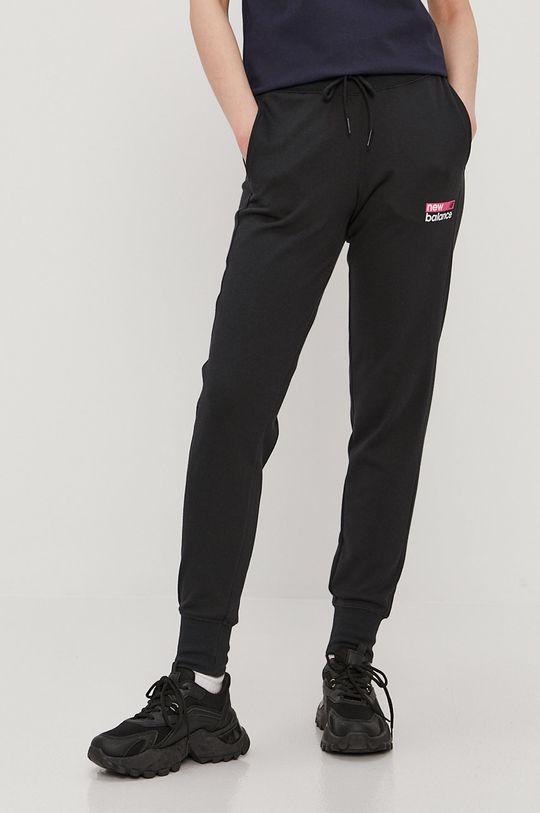 czarny New Balance - Spodnie Damski