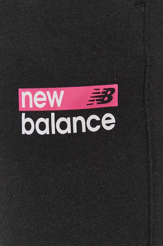 czarny New Balance - Spodnie