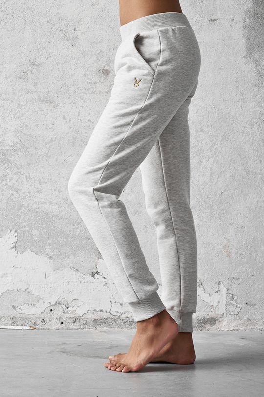 Cardio Bunny - Pantaloni FAE gri deschis