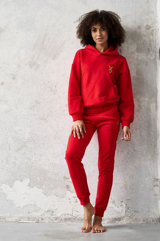 rosu Cardio Bunny - Pantaloni FAE