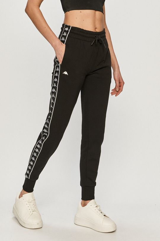 negru Kappa - Pantaloni De femei