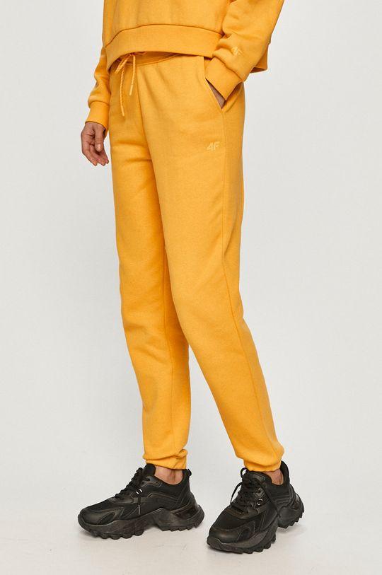 žltá 4F - Nohavice Dámsky