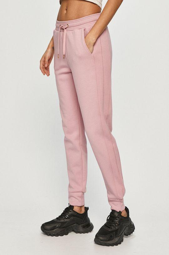 różowy 4F - Spodnie Damski