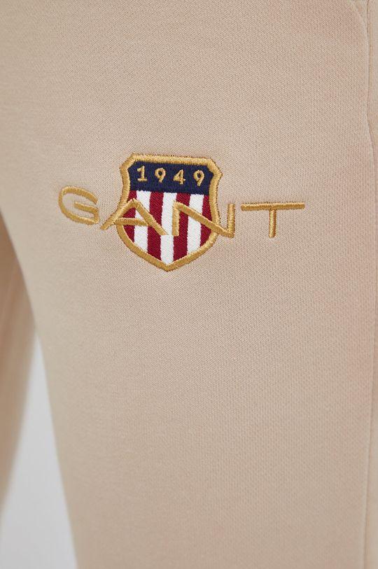 piaskowy Gant - Spodnie