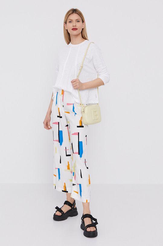 BIMBA Y LOLA - Spodnie biały