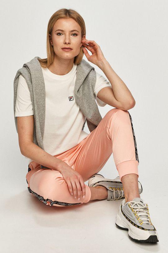 różowy Fila - Spodnie Damski