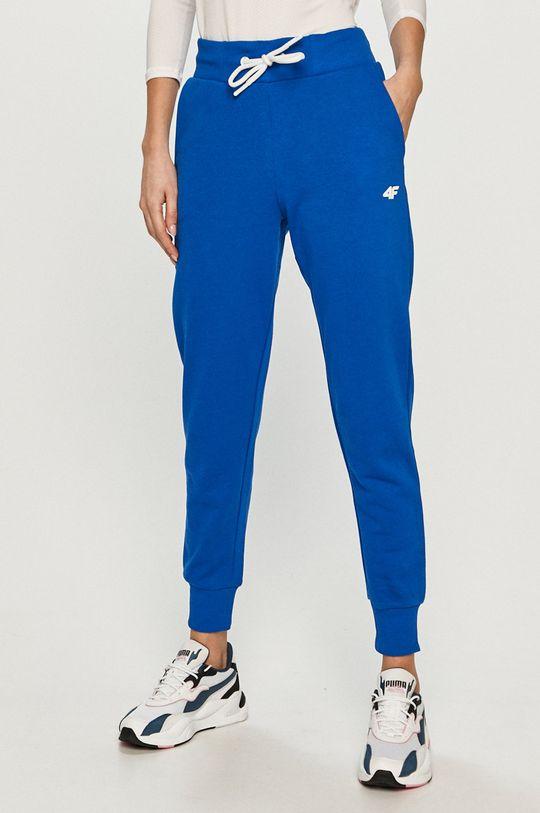 niebieski 4F - Spodnie Damski