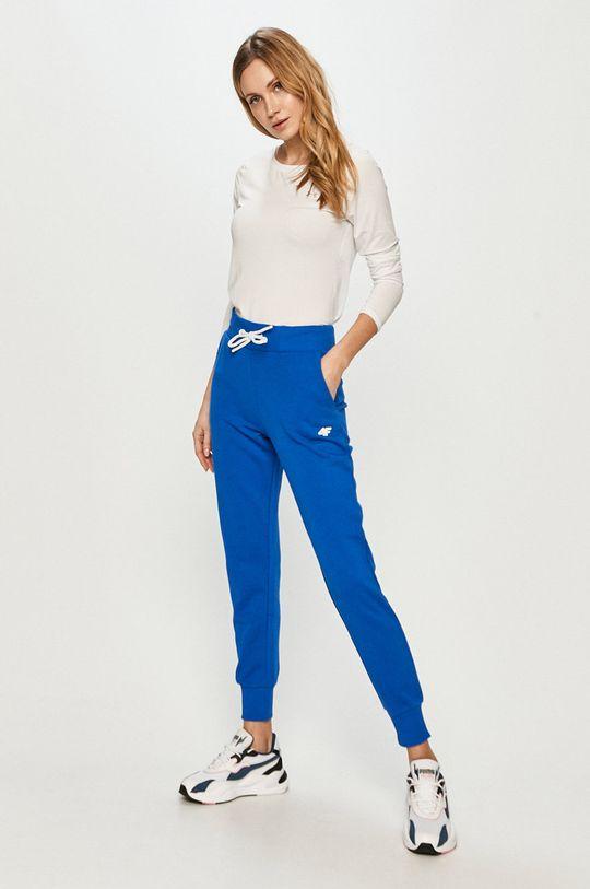 4F - Spodnie niebieski