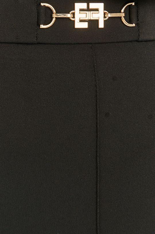 czarny Elisabetta Franchi - Spodnie