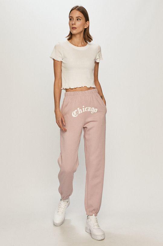 Tally Weijl - Spodnie brudny róż