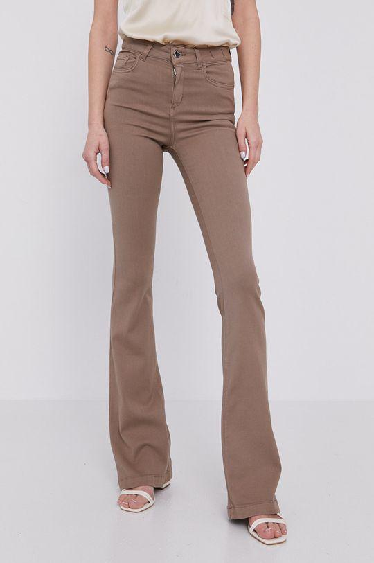 Twinset - Spodnie beżowy