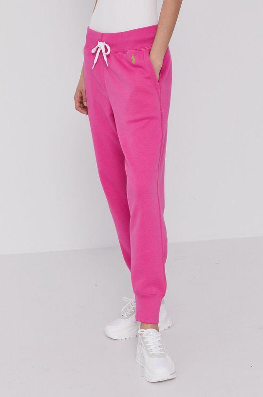 różowy Polo Ralph Lauren - Spodnie Damski