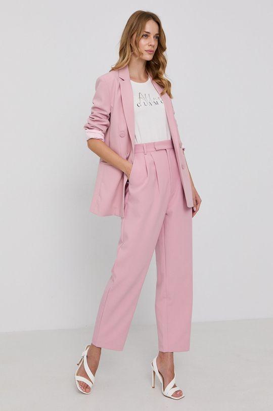 Bardot - Nohavice pastelová ružová
