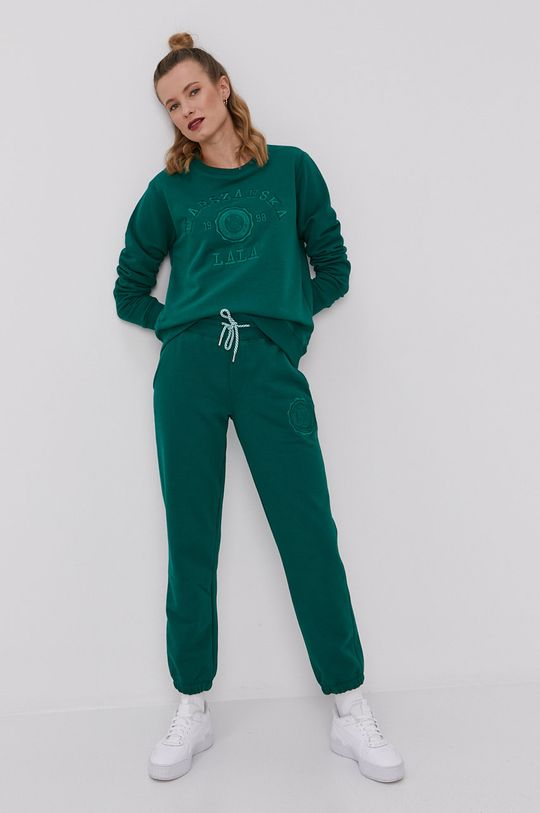 PLNY LALA - Nohavice zelená