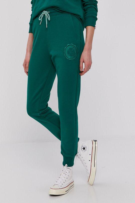 zielony PLNY LALA - Spodnie Damski