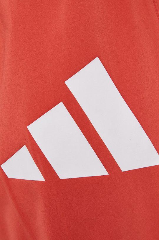 czerwony adidas Performance - Spodnie