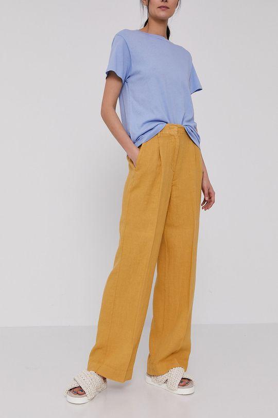 žlutá Marc O'Polo - Kalhoty Dámský