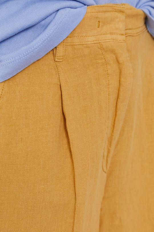 žlutá Marc O'Polo - Kalhoty
