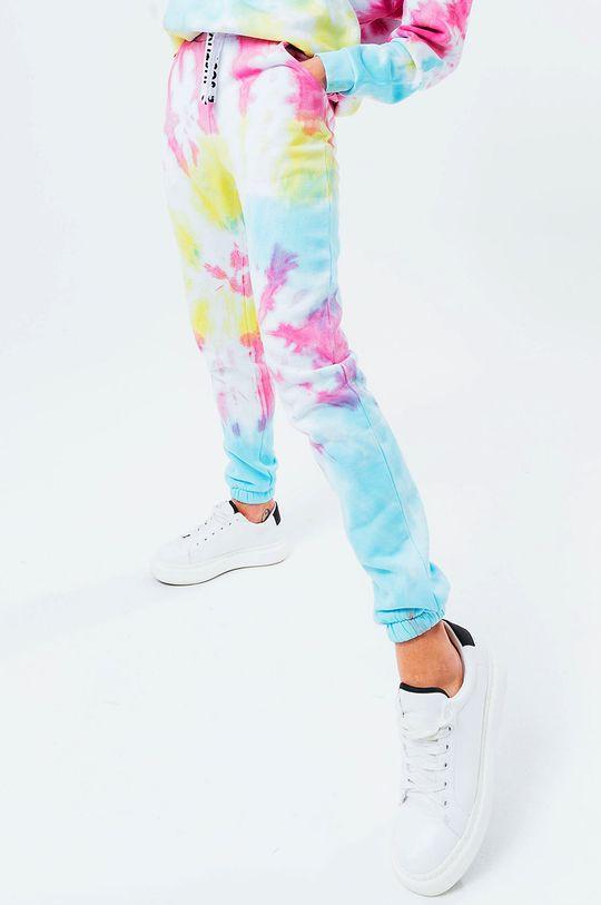 multicolor Hype - Spodnie TIE DYE Damski