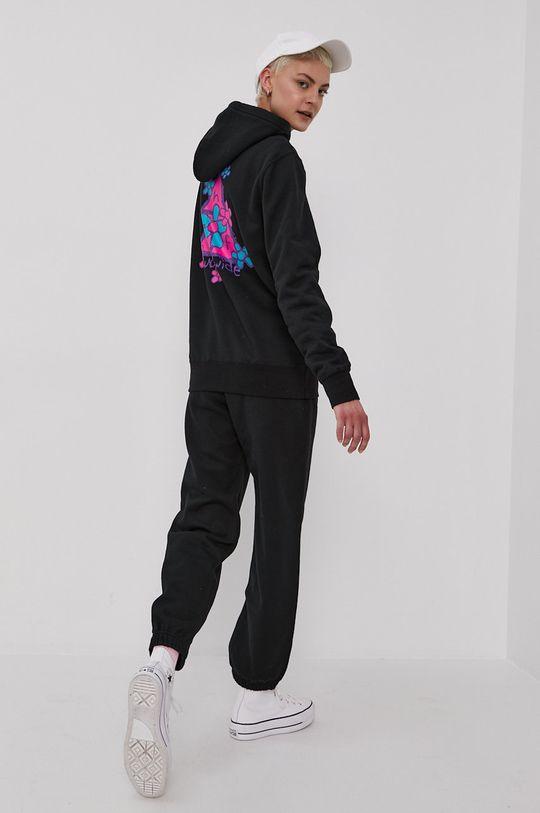 czarny HUF - Spodnie