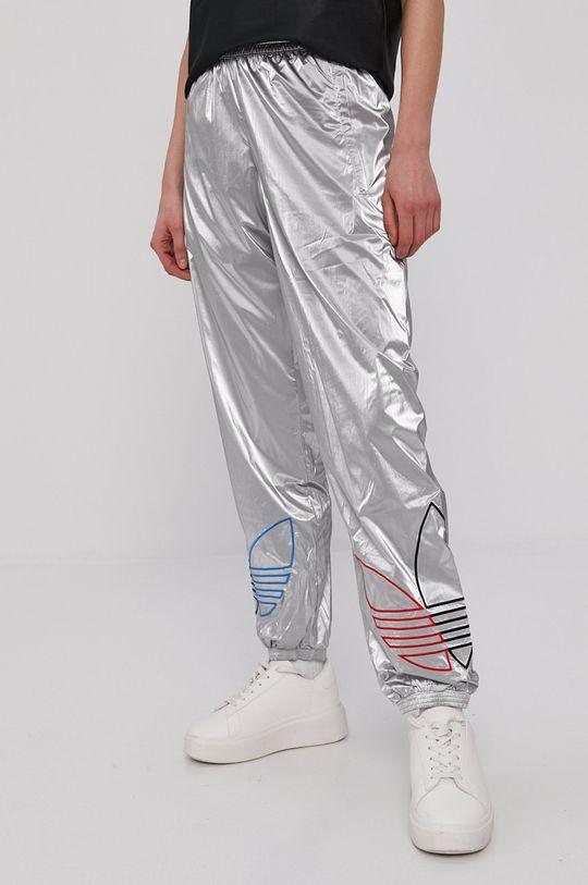 adidas Originals - Spodnie srebrny