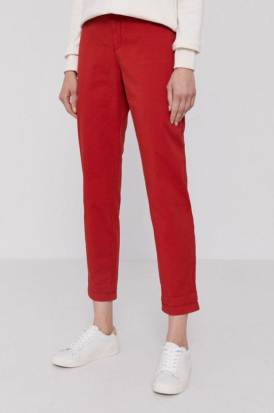czerwony Boss - Spodnie Damski