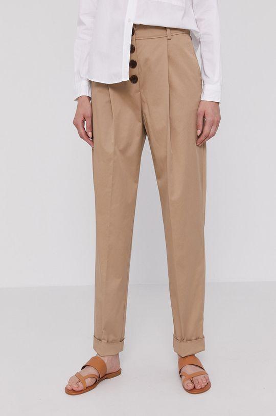 béžová Boss - Kalhoty Dámský