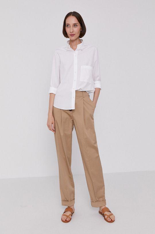 béžová Boss - Kalhoty