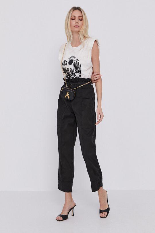 Pinko - Nohavice čierna