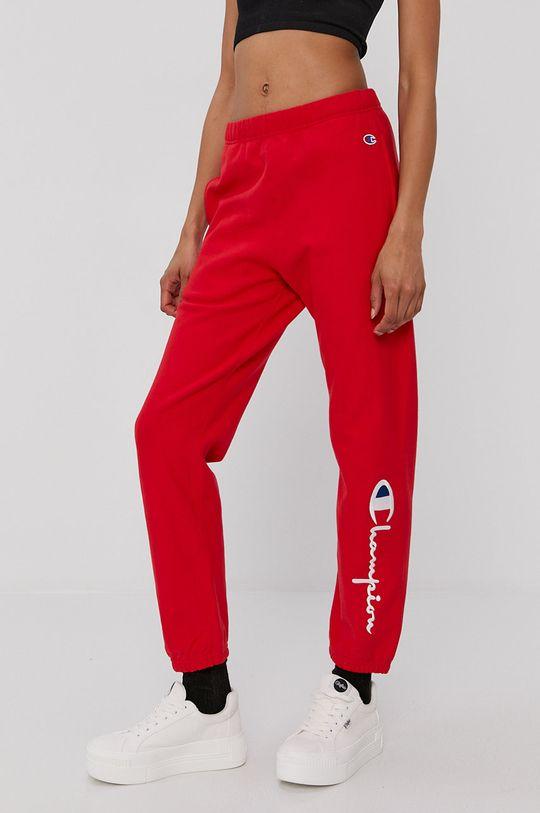 czerwony Champion - Spodnie Damski