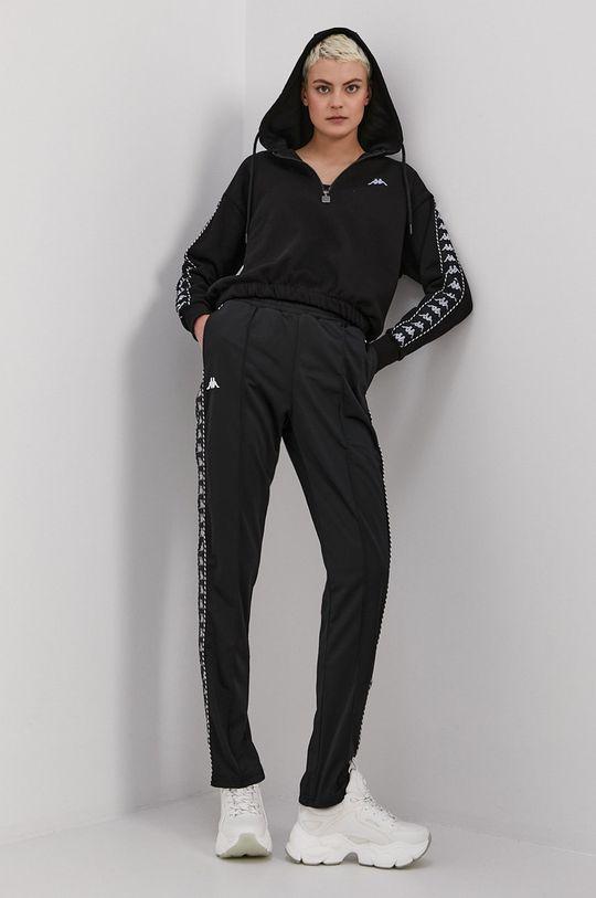 czarny Kappa - Spodnie Damski