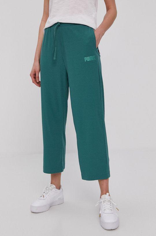 zielony Puma - Spodnie Modern Basics Damski