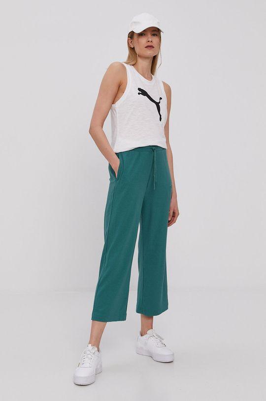 Puma - Spodnie Modern Basics zielony
