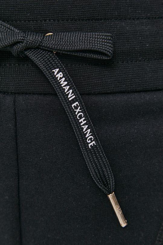 černá Armani Exchange - Kalhoty