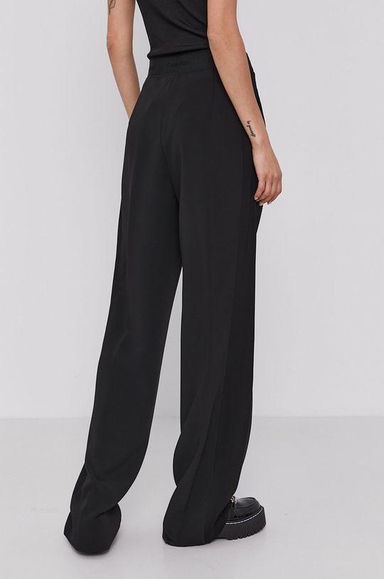 Calvin Klein - Spodnie Materiał 1: 6 % Elastan, 94 % Poliester, Materiał 2: 100 % Wiskoza