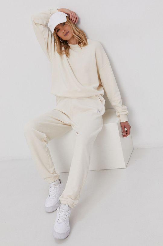 Reebok Classic - Spodnie kremowy