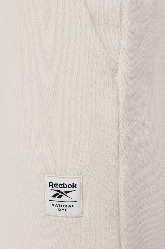 kremowy Reebok Classic - Spodnie