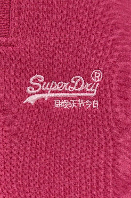 pastelová Superdry - Kalhoty
