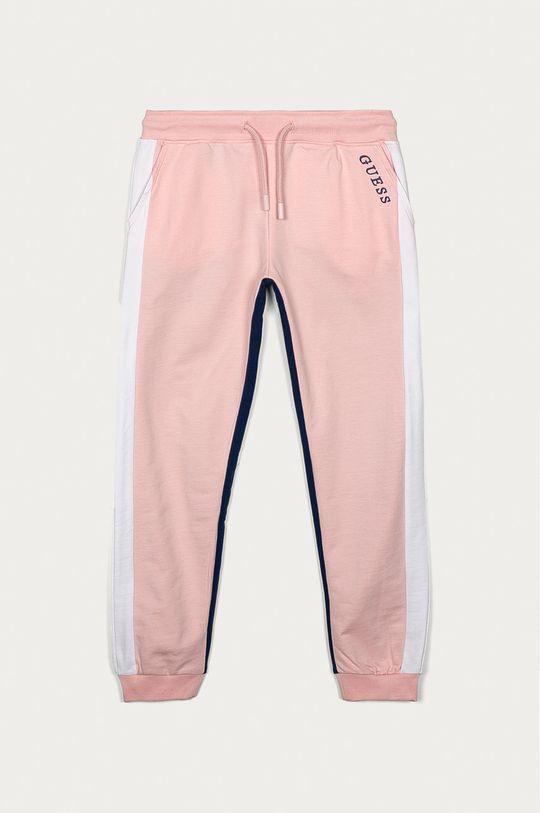 růžová Guess - Dětské kalhoty 116-175 cm Dívčí