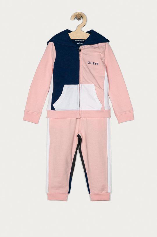 różowy Guess - Spodnie dziecięce 92-122 cm Dziewczęcy