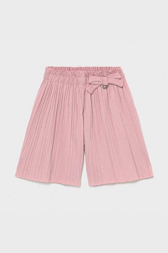 pastelowy różowy Mayoral - Spodnie dziecięce Dziewczęcy