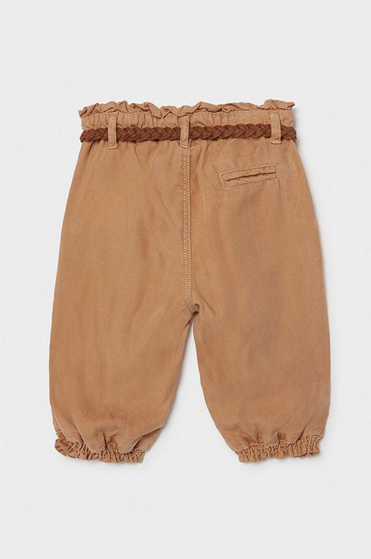 Mayoral - Detské nohavice kávová