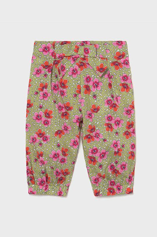 zielony Mayoral - Spodnie dziecięce Dziewczęcy