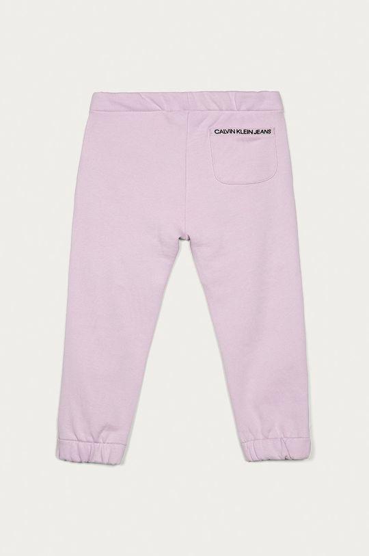 Calvin Klein Jeans - Spodnie dziecięce 104-176 cm lawendowy