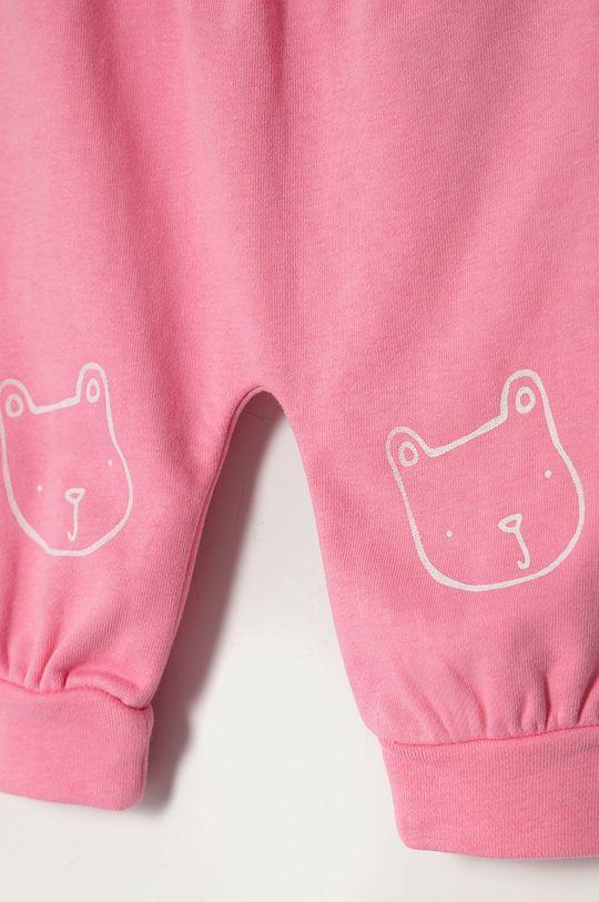GAP - Spodnie dziecięce 50-86 cm 77 % Bawełna, 9 % Poliester z recyklingu, 14 % Poliester