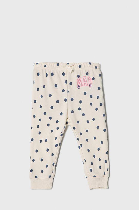 biały GAP - Spodnie dziecięce 50-86 cm Dziewczęcy
