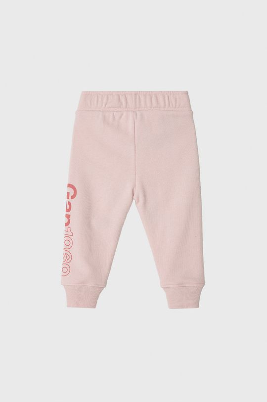 GAP - Spodnie dziecięce 74-110 cm pastelowy różowy