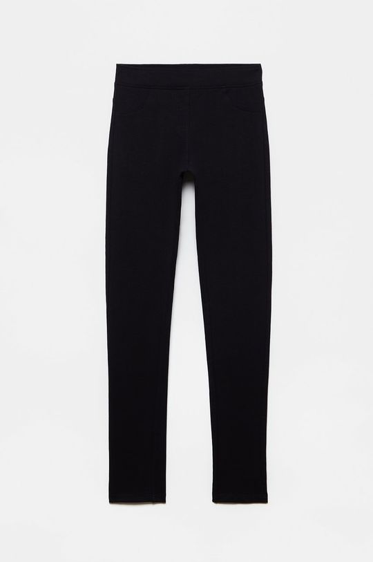 čierna OVS - Detské nohavice Dievčenský